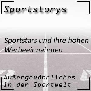 Sportstars und ihre Werbeeinnahmen