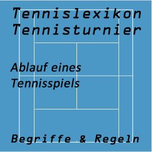 Ablauf eines Tennisspiels