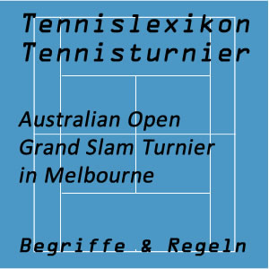 Tennisturniere Australian Open in Melbourne