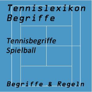 Tennis Spielball