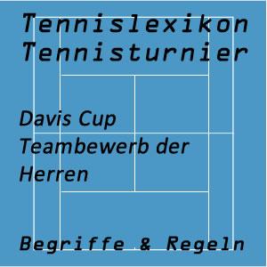 Tennisturniere Daviscup oder Davis Cup