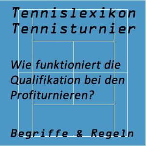 Qualifikation für das Tennisturnier
