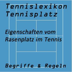 Rasenplatz im Tennissport