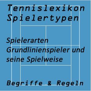 Tennis Grundlinienspieler