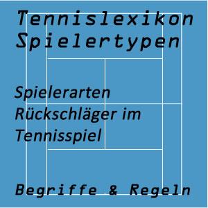 Tennis Rückschläger