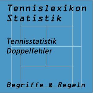Tennisstatistik Doppelfehler