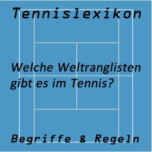 Tennis Weltranglisten