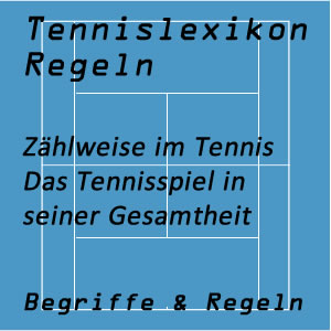 Tennismatch und Zählweise