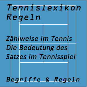 Satz im Tennisspiel (Zählweise)
