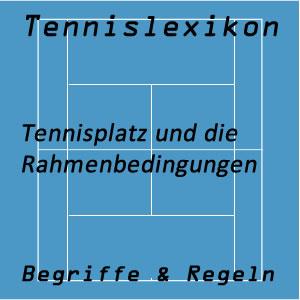 Bedingungen am Tennisplatz