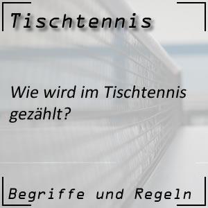Tischtennis Zählweise