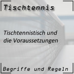 Tischtennistisch