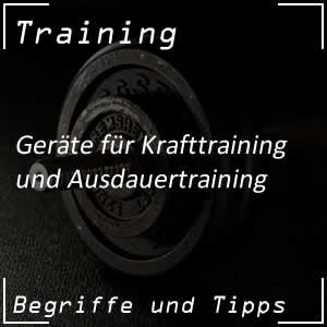 Geräte für das Training
