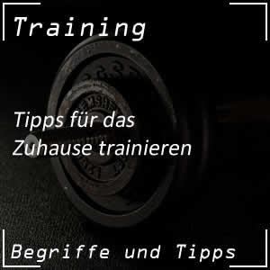 Zuhause trainieren