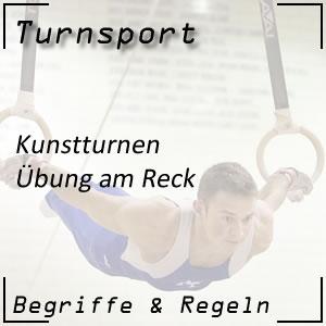 Turnsport Kunstturnen Reck