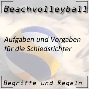 Beachvolleyball Schiedsrichter