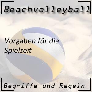 Beachvolleyball Spielzeit