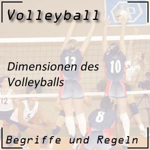 Volleyball Ball Dimensionen