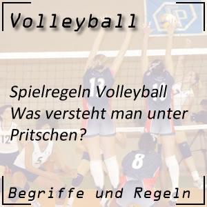 Volleyball Pritschen