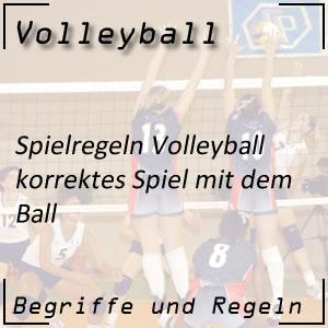 Volleyball Spielweise