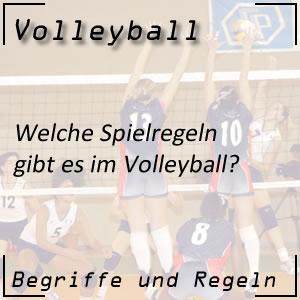 Volleyball Spielregeln