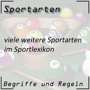 weitere Sportarten im Sportlexikon